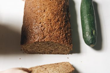 zucchini with bread